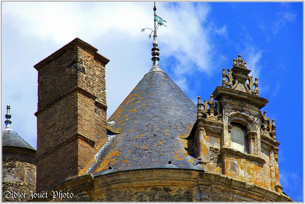 (85) Vendée - Apremont (1) - Château d'Apremont
