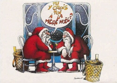 Humour de Noël en image