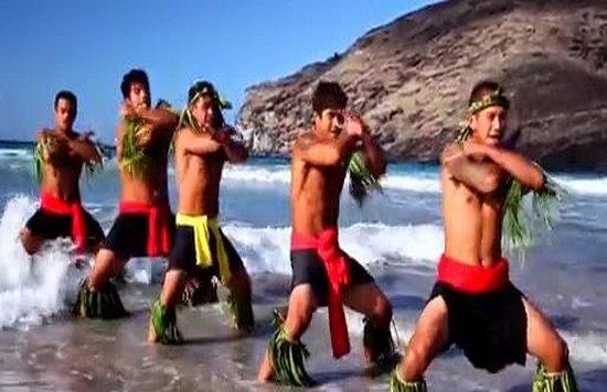 Les danseurs des îles Marquises