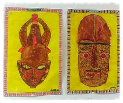 Masques africains
