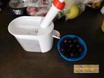 Moelleux aux cerises et pépites de chocolat blanc