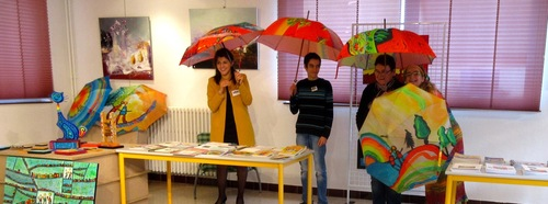 Parapluies en bibliothèques...