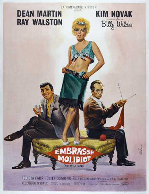 EMBRASSE MOI IDIOT BOX OFFICE FRANCE 1965