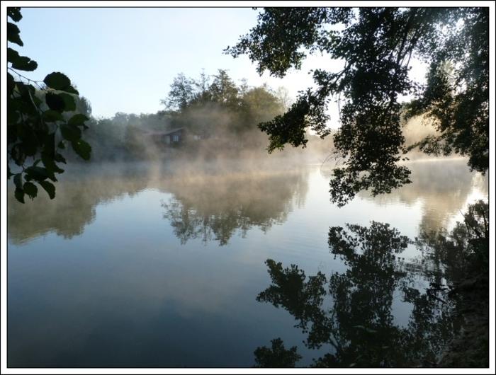 Voile de brume, matin soyeux