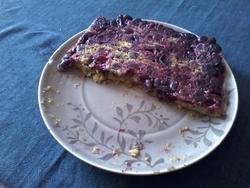 gâteau aux cerises et à la canelle