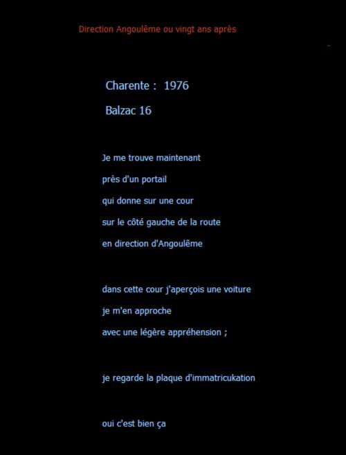 Flasback / 1 texte de M . Georges thème vol de voiture