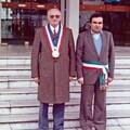 M; Cozette, Maire de Déville et M. Cirri, Maire de Carmignano