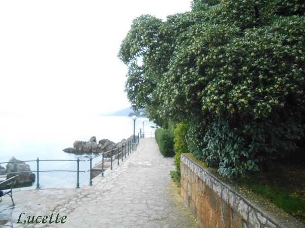 Promenade à Opatija