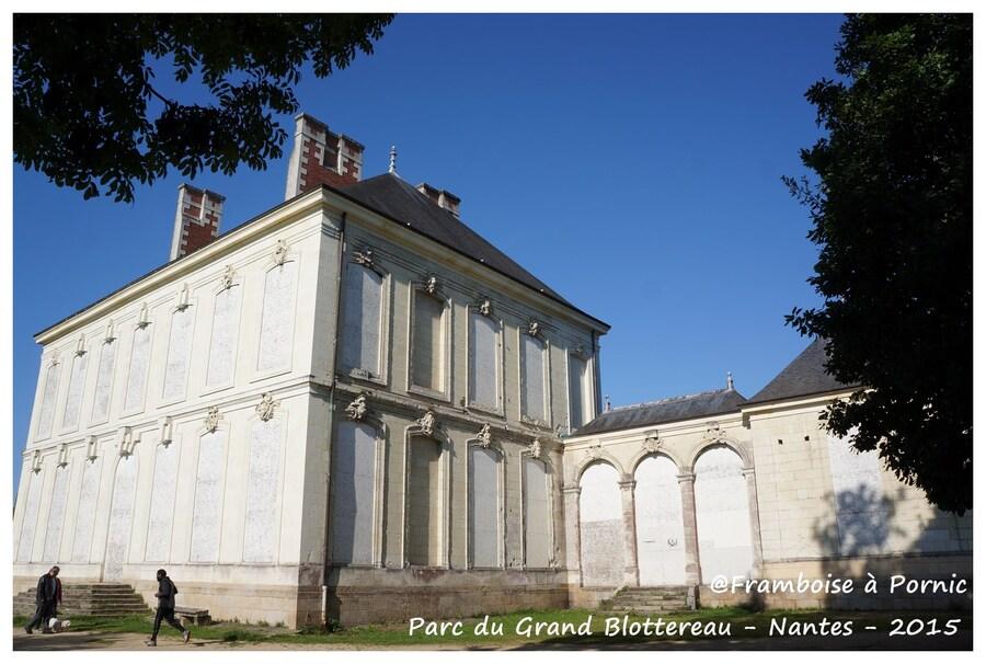 Nantes Parc du grand Blottereau - chateau qui ne se visite pas il est en restauration