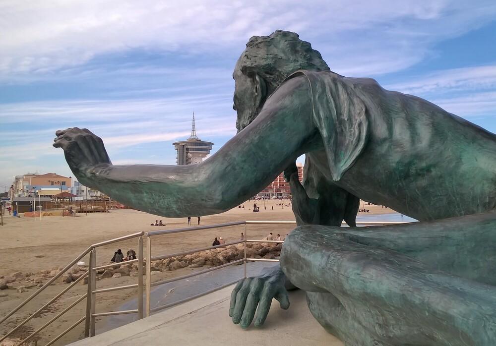L'Espoir, statue à Palavas les Flots