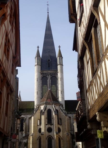 L'église Notre Dame de Dijon