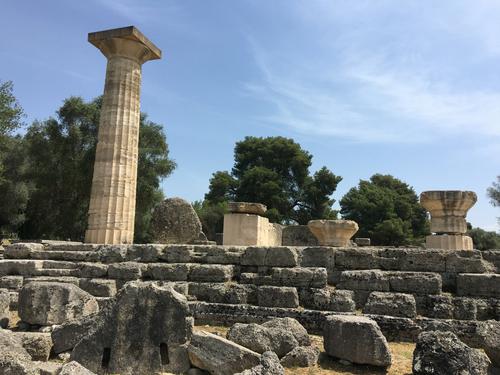 Olympie - Temple de Zeus