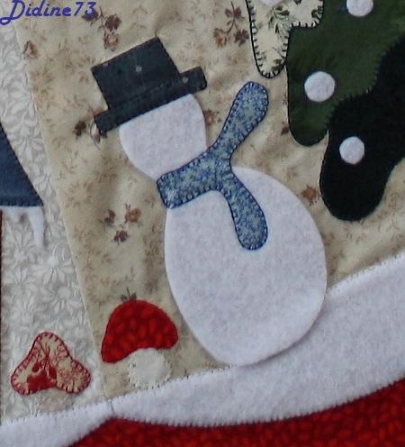 Mon tapis de sapin - étape 6 - zoom1