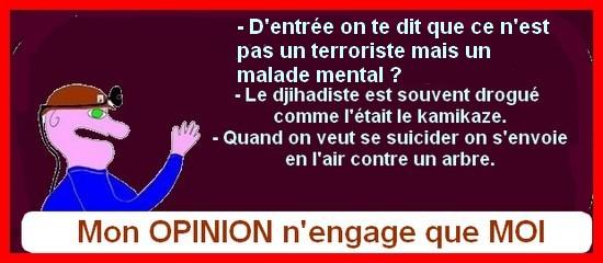 Macron déraille, terrorisme etc.. ce sont les petites infos du jeudi !
