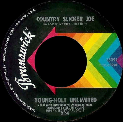 Young-Holt Unlimited : Single SP Brunswick Records 55391 [ US ]