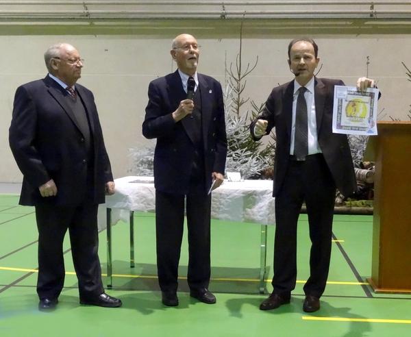 Les vœux d'Hubert Brigand, Maire de Châtillon sur Seine pour la nouvelle année 2015