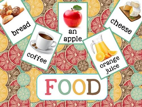 Le lexique de la nourriture