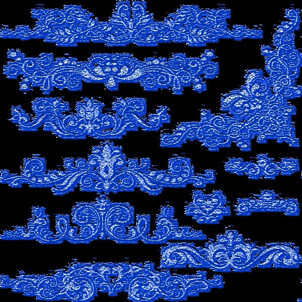 Dentelles bleues 13