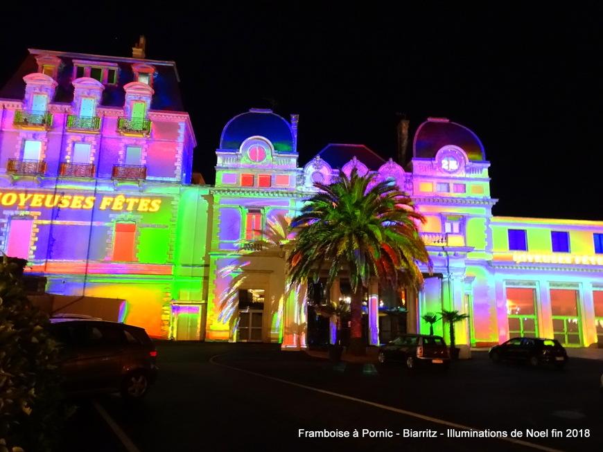 Biarritz - Illuminations de Fin d'Année 2018