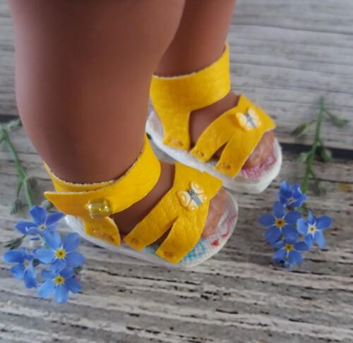chaussures mini corollines 20 cm
