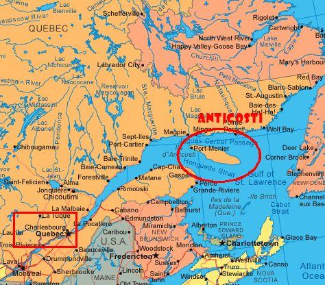 Chute Vauréal, Anticosti, Québec