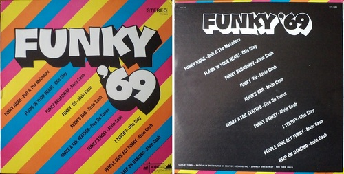 VARIOUS FUNKY 69 - TODDLIN' TOWN RECORDS