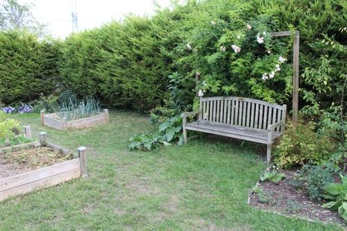 Le jardin s'est fait faire une petite beauté