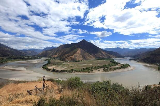 La rivière Yangtze
