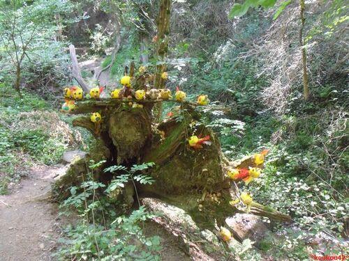 "Seyssuel. Le sentier ""Art-Nature 2019"" (3)."