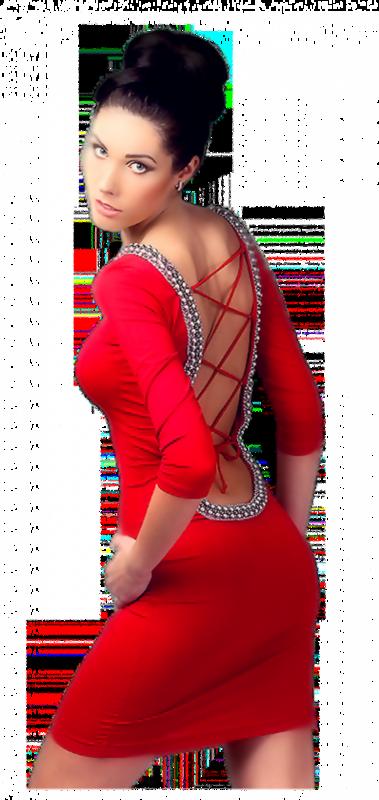 Tubes femmes en rouge