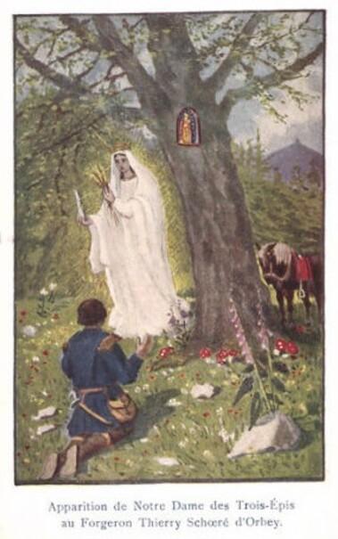 Prière à Notre-Dame des Trois-Épis