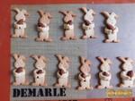 Lapins de Pâques aux amandes