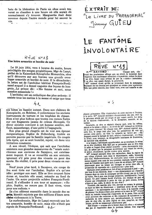 Microscope n°52 Le futur investigué