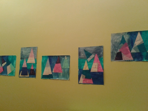 Arts : arbre d'hiver (2)