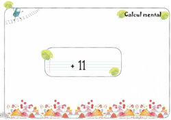math interactives : calcul mental ajouter 11