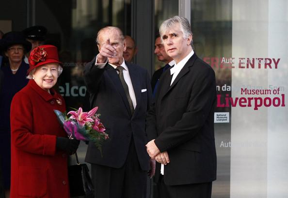 Philippe et Elizabeth à Liverpool
