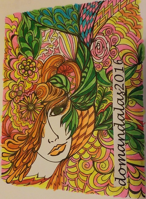 DOMANDALAS coloring book dreamscapes de Miryam Adatto