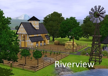 Les Sims 3 Riverview