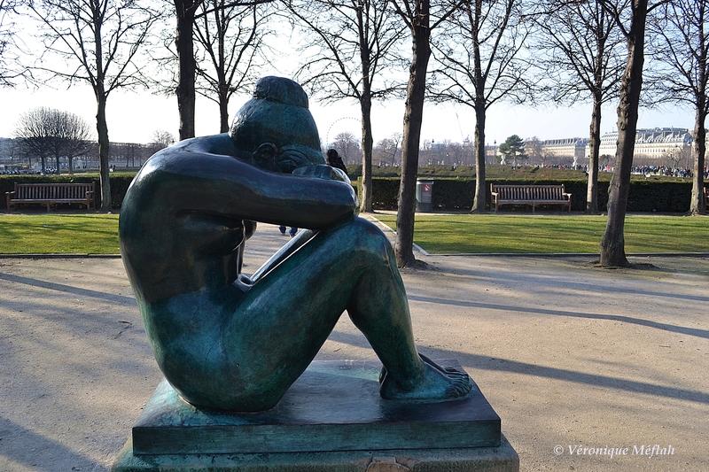 Aristide Maillol le sculpteur préféré des jardins du Caroussel - sculpture La Nuit