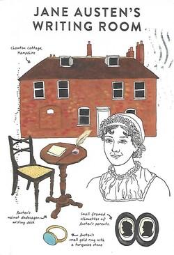 Jane Austens Schreibzimmer