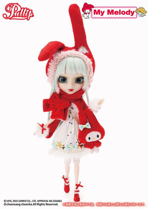 Janvier : Pullip My Melody x Hen Nako