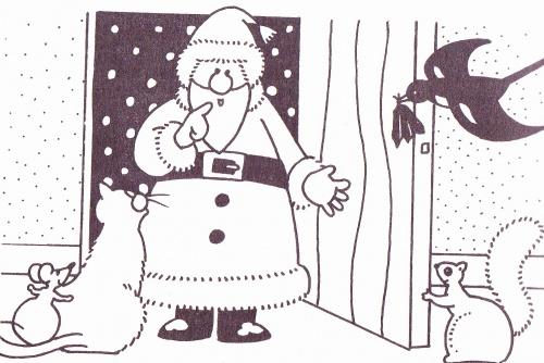 """""""Les plumes de Noël"""" CP"""