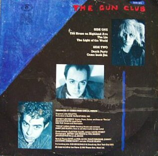 Mémoire de vinyl: Gun Club - Death Party EP (1983)