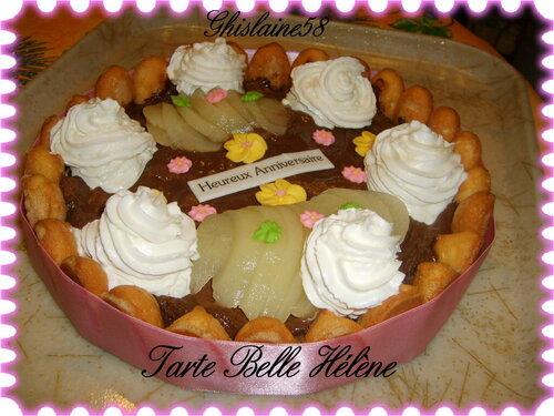 Tarte Belle Hélène