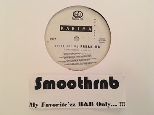 KARIMA (THE BOSS) - GOTTA GET MY FREAK ON (VLS 1995)
