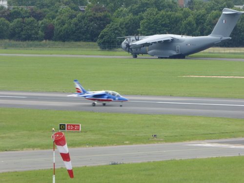 Fin du Salon du Bourget