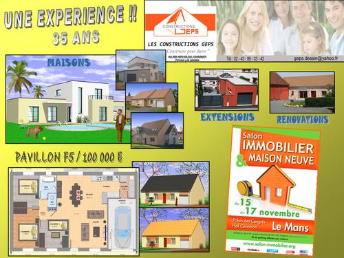 6ème Salon de l'immobilier et de la maison neuve de la Sarthe.