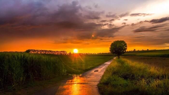 Les coucher du soleil du photographe Ralf Thomas