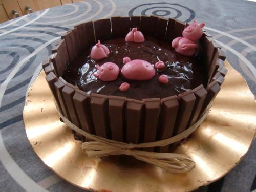 Gâteaux réalisés pour l'anniversaire de mon fils