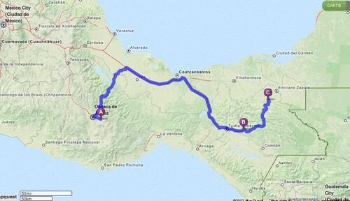 03.11.2012 - Oaxaca > San Cristobal > Palenque